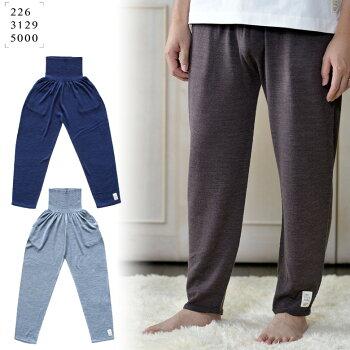 五泉ニット のびるパンツ レギュラータイプ 洗濯機で洗えるウール ポケット付き 226 おなかをつつむ レディース メンズ ルームウェア