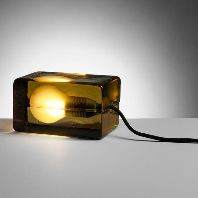 【DESIGN HOUSE Stockholm】BLOCK lamp MoMA永久コレクションのランプ ガラス製 Harri Koskinen デザインハウスストックホルム