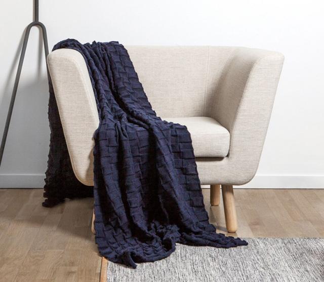 【DESIGN HOUSE Stockholm】Curly throw ひざ掛け ブランケット スロー Margot Barolo デザインハウスストックホルム