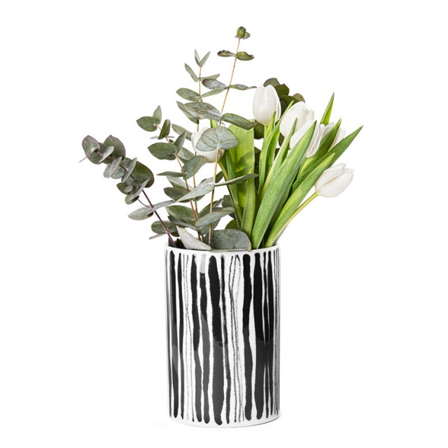【DESIGN HOUSE Stockholm】Deco vase straw 花瓶 Ann Wahlstrom デザインハウスストックホルム