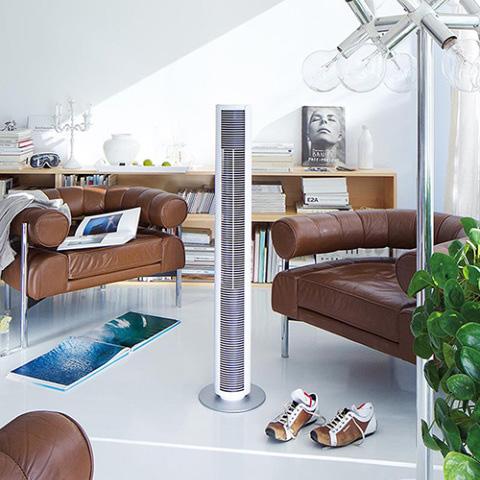 Stadler Form/Peter タワーファン デザイン家電 スリム 扇風機 冷風 ブラック ホワイト 黒 白 スイス