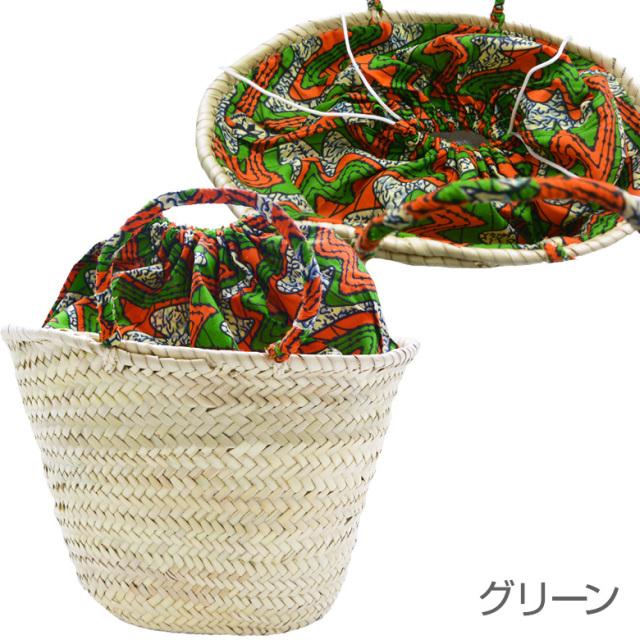 ファティマモロッコ アフリカン カゴバッグ