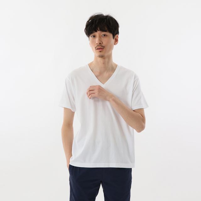 Hanes ヘインズ ジャパンフィットVネックTシャツ [H5315]