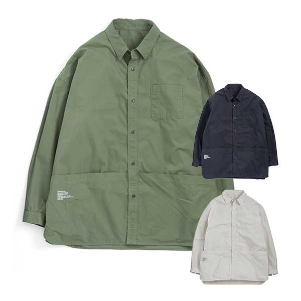 FreshService フレッシュサービス ツールポケット シャツ Tool Pocket Regular Collar Utility Shirt