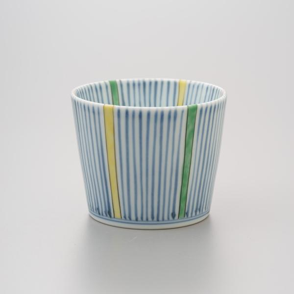 染錦四色十草 そば猪口 渓山窯 そばつゆ デザート アイスクリームカップ 小鉢 陶器 日本製