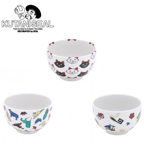 久谷焼 茶碗 カップ 猫 小鳥 縁起物 kutaniseal 和食器 コップ