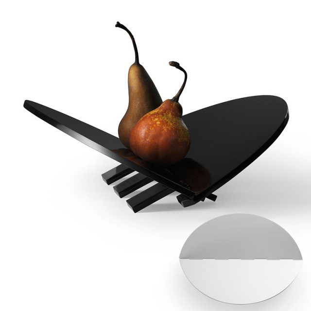 【DESIGN HOUSE Stockholm】Leaf tray フルーツやパンを載せて 皿 プレート メラミン製 Stig Ahlstrom デザインハウスストックホルム