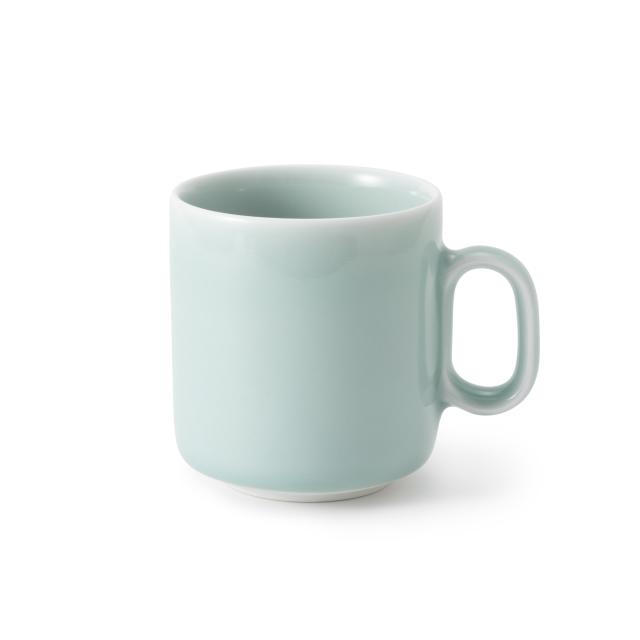鍋島青磁 マグカップ 鍋島虎仙窯 日本製 ファイヤーキング好きな方にも ターコイズブルー 青磁釉