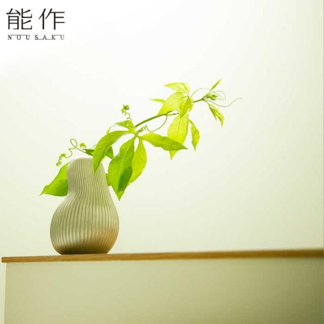 錫の一輪挿しフラワーベース ようなし 能作 花器 花びん おしゃれ 日本製 ギフト