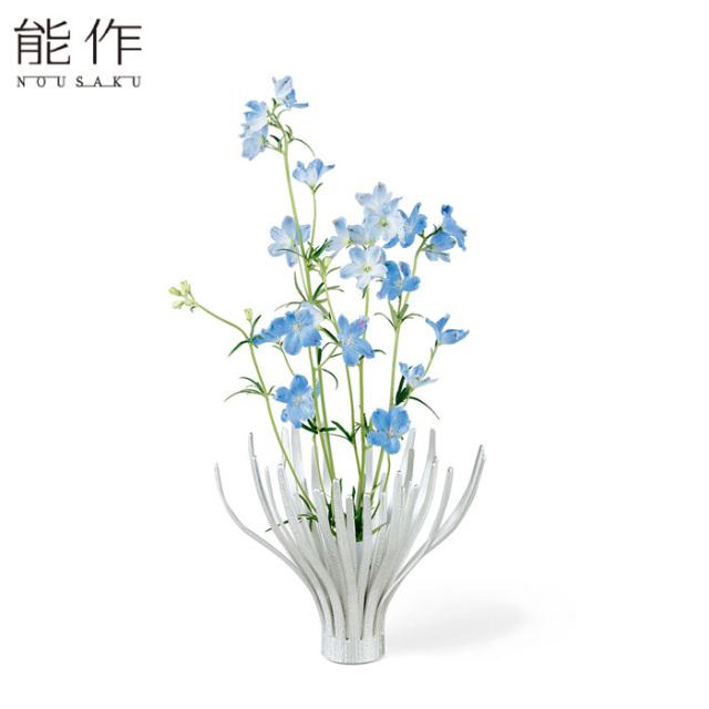 変形できる 錫のフラワーベース MOVE - S 能作 花器 花びん おしゃれ 日本製 ギフト