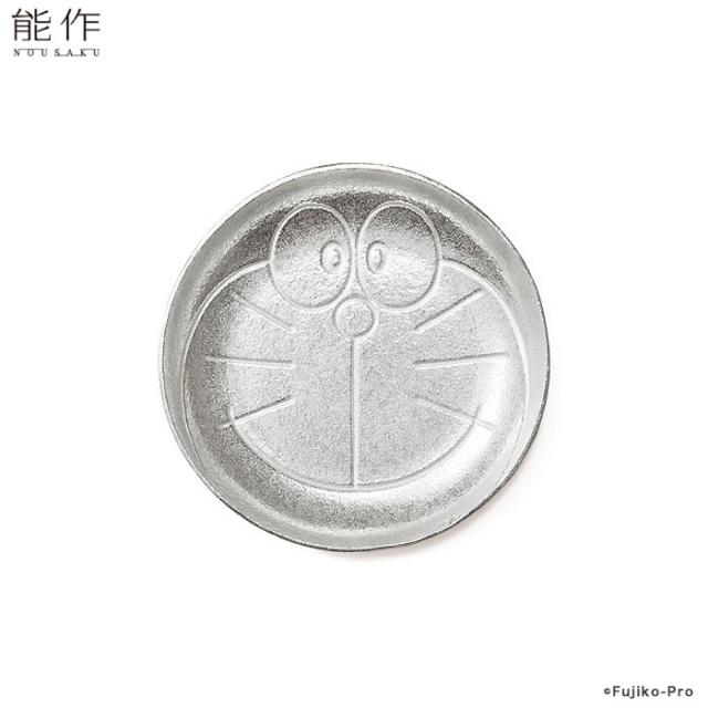 能作 ドラえもん豆皿 錫100% 日本製 アクセサリートレー コースター
