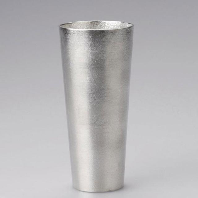 能作 錫のビアカップ Lサイズ 380cc 大きめサイズ 缶ビール1本分