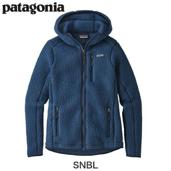 Patagonia パタゴニア ウィメンズ・レトロ・パイル・フーディ レディースSNBL Sサイズ Women's Retro Pile Fleece Hoody 22805
