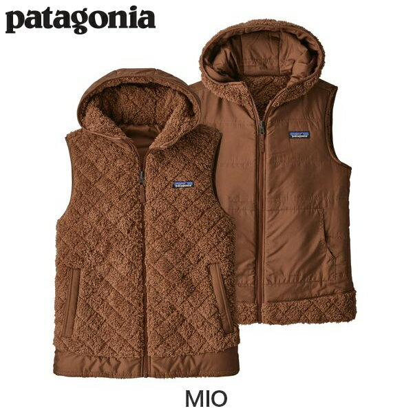 Patagoniaパタゴニア25221ウィメンズ・ロス・ガトス・フーデッド・フリースベストWomen'sLosGatosHoodedFleeceVest2017FWレディース