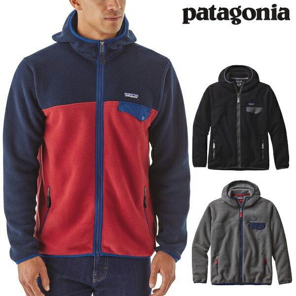 Patagoniaパタゴニア25462メンズ・ライトウェイト・シンチラ・スナップT・フーディMen'sLightweightSynchillaSnap-THoody2017FW