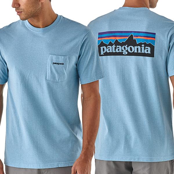 パタゴニア patagonia メンズ・P-6ロゴ・ポケット・レスポンシビリティー Tシャツ  39178 Men's P-6 Logo Pocket Responsibili-Tee