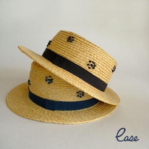 RAFFIA コケット KID'S ハット 子供用 帽子 夏 UVカット キッズ 子ども カンカン帽
