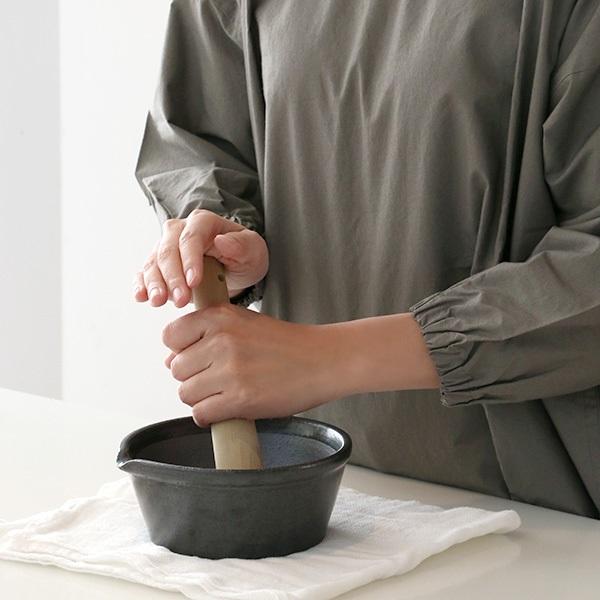 かもしか道具店 すりバチ 溝のないすり鉢 日本製