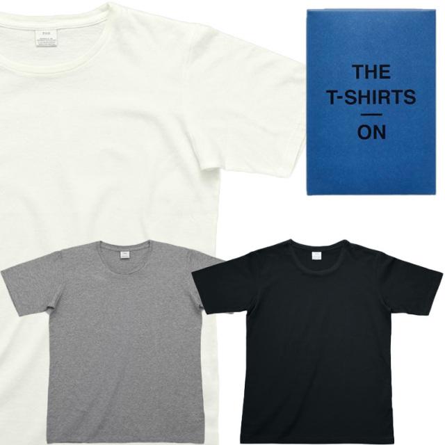 THE ON T-SHIRTS スーツやジャケットに合わせられる、上質感あるTシャツ メンズ ギフト 父の日