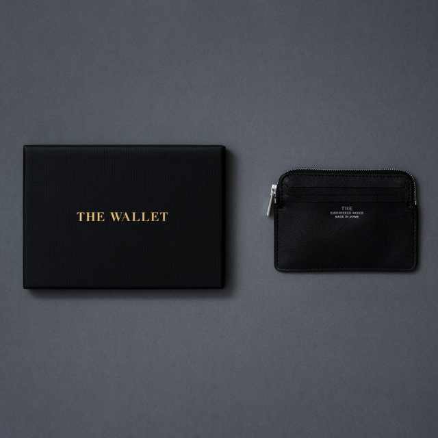 THE 牛革財布 ヌメ革 メンズ ウォレット 日本製 THE WALLET