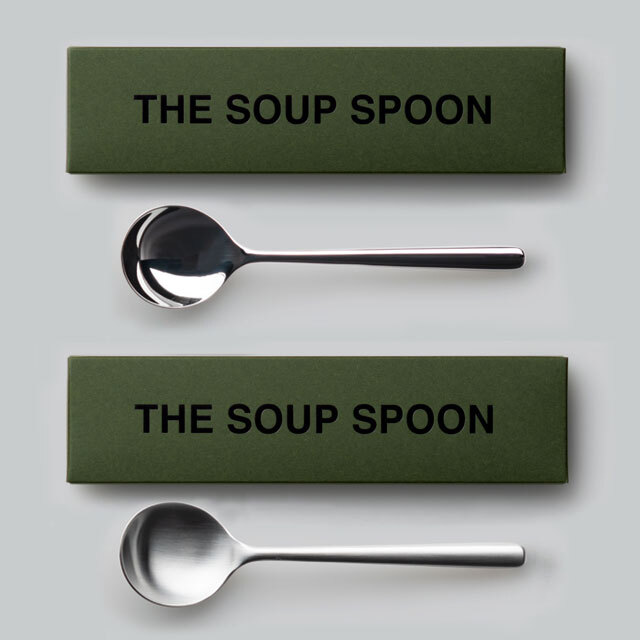 THE スープスプーン ギフトボックス入り 日本製 おしゃれ シンプル 贈り物 プレゼント 新潟県 THE SOUP SPOON Gift box