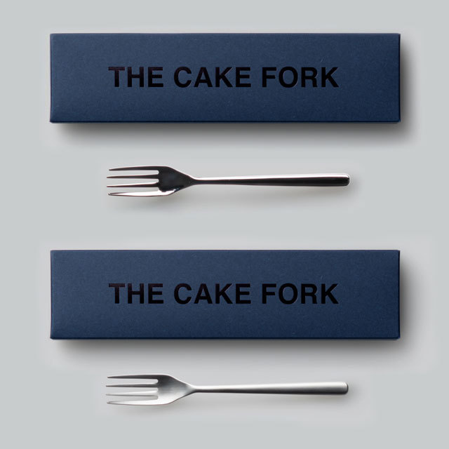 THE ケーキフォーク ギフトボックス入り 日本製 おしゃれ シンプル 贈り物 プレゼント 新潟県 THE CAKE FORK Gift box