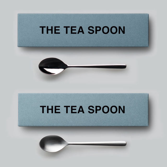 THE ティースプーン ギフトボックス入り 日本製 おしゃれ シンプル 贈り物 プレゼント 新潟県 THE TEA SPOON Gift box