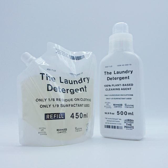 送料無料 THE 洗濯洗剤 本体&詰め替えパックセット ウール、シルクも洗える The Laundry Detergent がんこ本舗