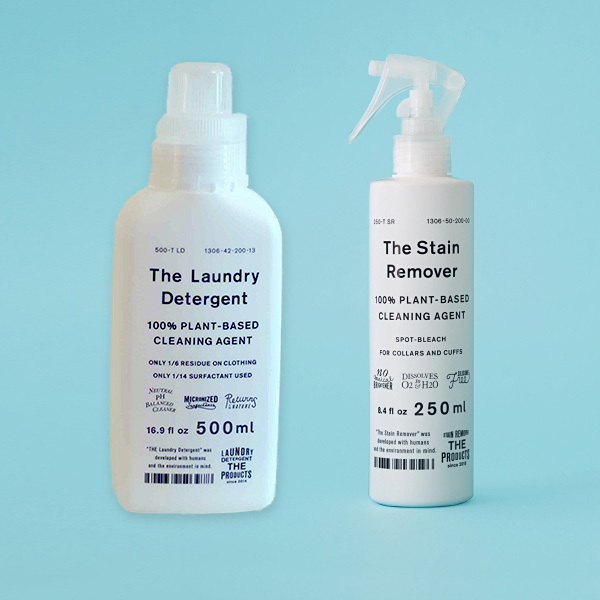 ウール、シルク、麻に使える 洗濯洗剤&漂白剤セット The Laundry Detergent&The Stain Remover