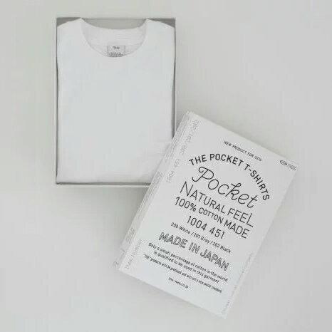 【中川政七商店THE】ポケットTシャツ日本製スーピマコットンTHEPOCKETT-SHIRTS