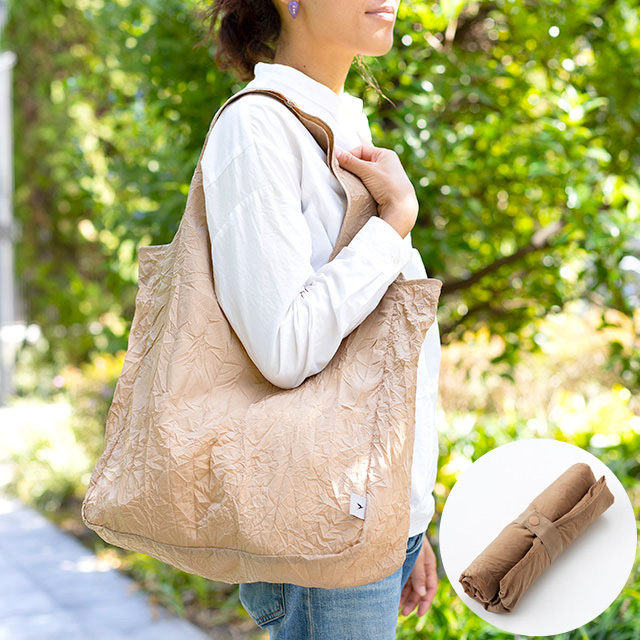 TO&FRO コンパクトに持ち運べるトートバッグ ROLL-UP TOTE BAG