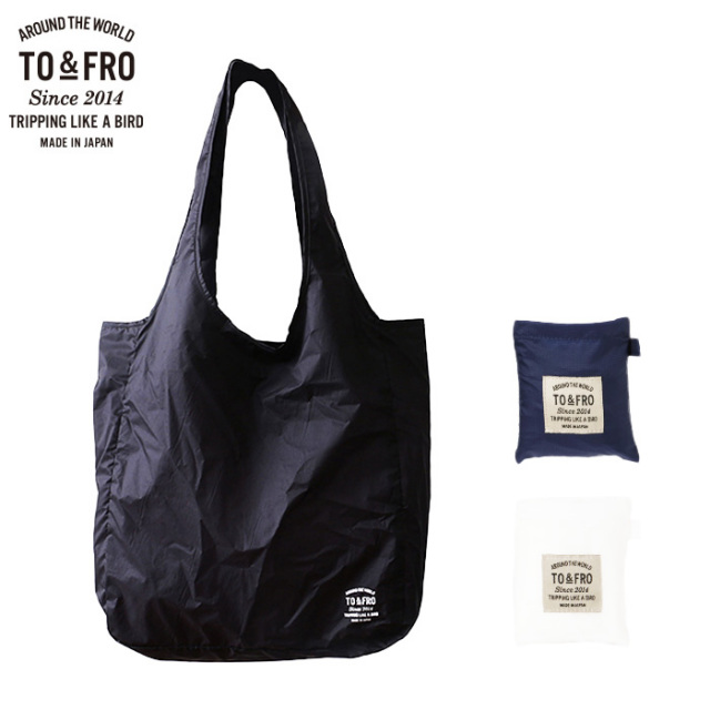 TO&FRO わずか15gのトート エコバッグ パッカブル 超軽量コンパクト 撥水 PACKABLE TOTE BAG-AIR  Sサイズ