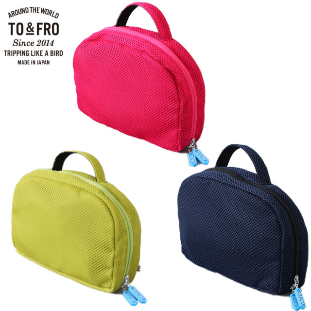 TO&FRO メッシュ ポーチ ラウンド 車内収納 DRIVE POUCH ROUND