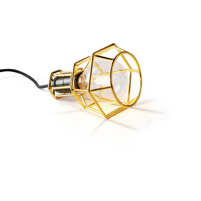 【DESIGN HOUSE Stockholm】Work lamp gold ランプ ゴールド 24K Form Us With Love デザインハウスストックホルム