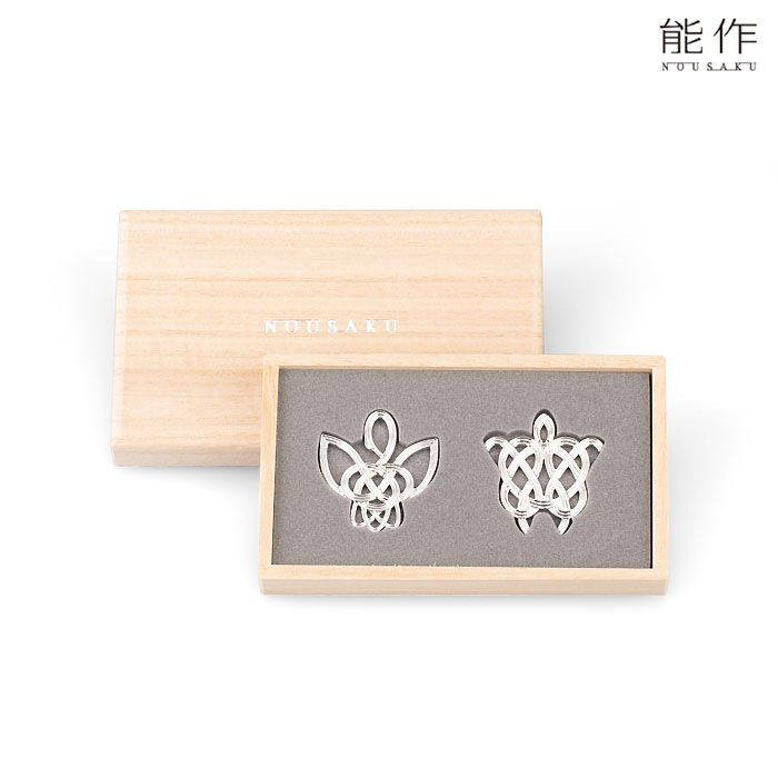 能作 錫の箸置き 鶴亀 ギフト 縁起物 贈り物 内祝い 結婚祝い 引き出物