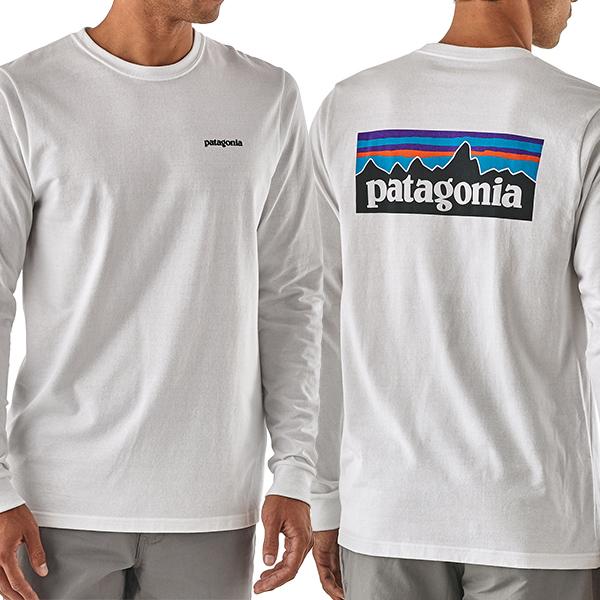 パタゴニア patagonia メンズ・ロングスリーブ・P-6・ロゴ・レスポンシビリティー Men's Long-Sleeved P-6 Logo Responsibili-Tee® 39161
