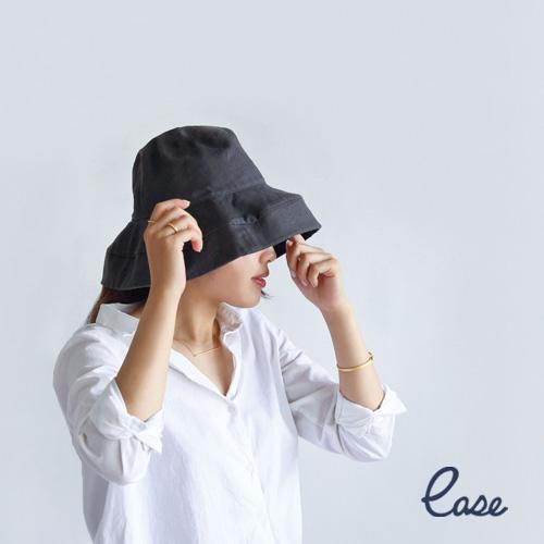 リネン ストール ハット レディース 帽子 UVカット