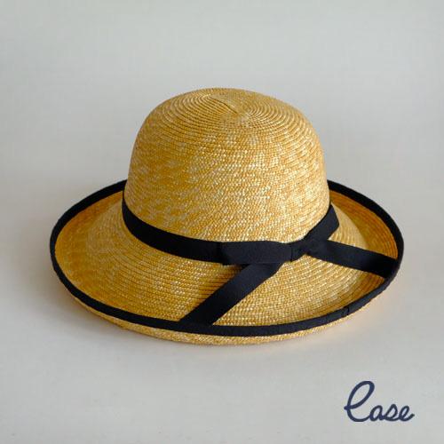 ストロー ハット ラインリム レディース 帽子 夏 UVカット