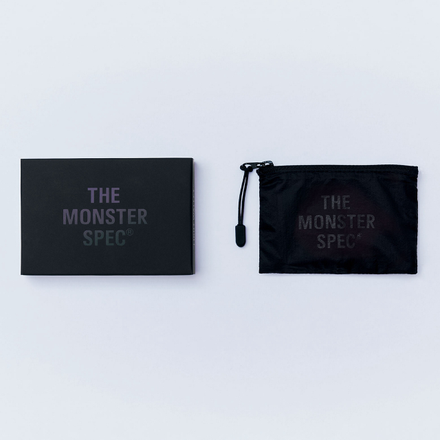 THE わずか5g コンパクトウォレット 軽量 撥水 財布 小銭入れ カード入れ ポーチ THE MONSTER SPEC WALLET for Air Black