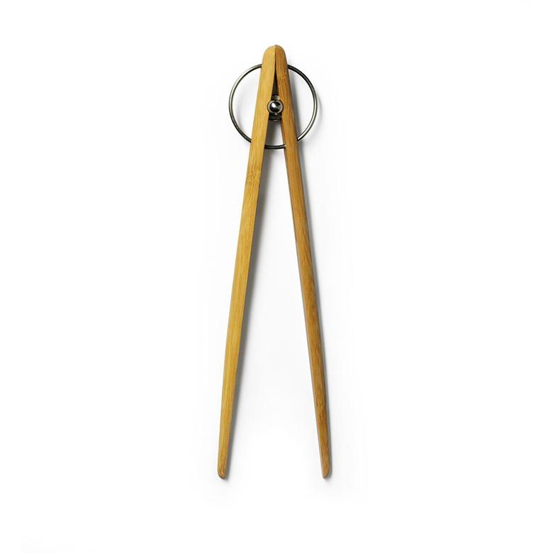 【DESIGN HOUSE Stockholm】Pick Up tongs Medium トング ミディアムサイズ 竹製 Stig Ahlstrom デザインハウスストックホルム