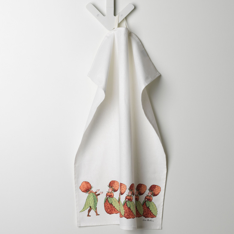 【DESIGN HOUSE Stockholm】Kitchen towel Elsa Beskow キッチンタオル Catharina Kippel デザインハウスストックホルム
