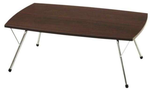【送料無料】 デザイナー家具 新居猛デザイン!おしゃれな折りたたみコーヒーテーブル