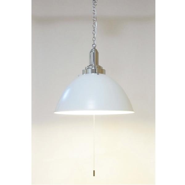 【送料無料】 カフェ風デザインの照明 スチール製おわん型シェード ペンダントライト