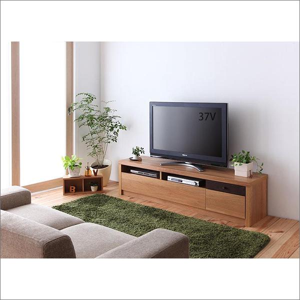 【送料無料】 日本製 天然木オーク材使用 テレビ台 W150
