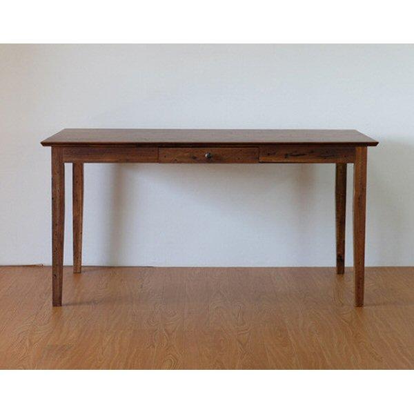 【送料無料】アジアンなデザインのダイニングテーブル 幅140 アカシア無垢