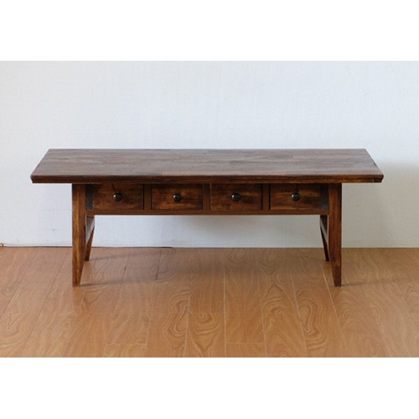 【送料無料】アジアンなデザインのセンターテーブル 幅100cm アカシア材使用