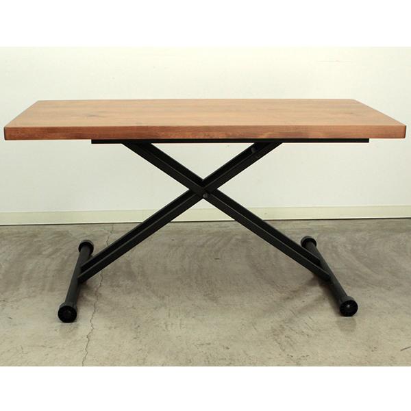 【送料無料】 リナ おしゃれなリフティングテーブル モダン ナチュラル 120