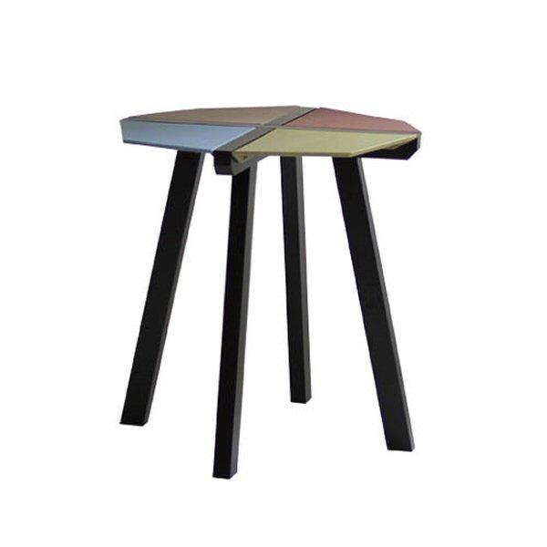 【送料無料】 モダンなデザイン オクタゴンサイドテーブル
