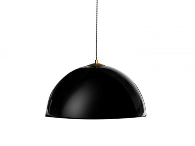 【COPEN LAMP L】シンプルで存在感のある一灯ペンダントランプ ブラック