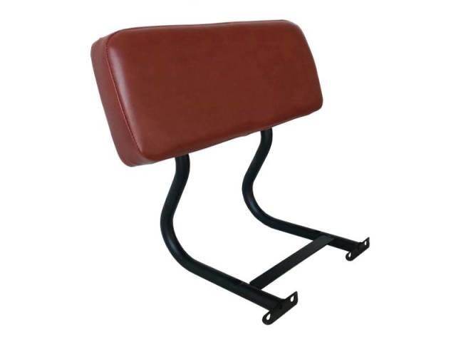 【送料無料】インダストリアルデザイン ダイニングベンチ肘掛部分 AN ブラウン